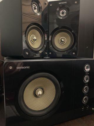Sensonic F7 Multi-media Speakers