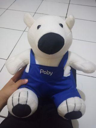 Boneka beruang poby (pororo)