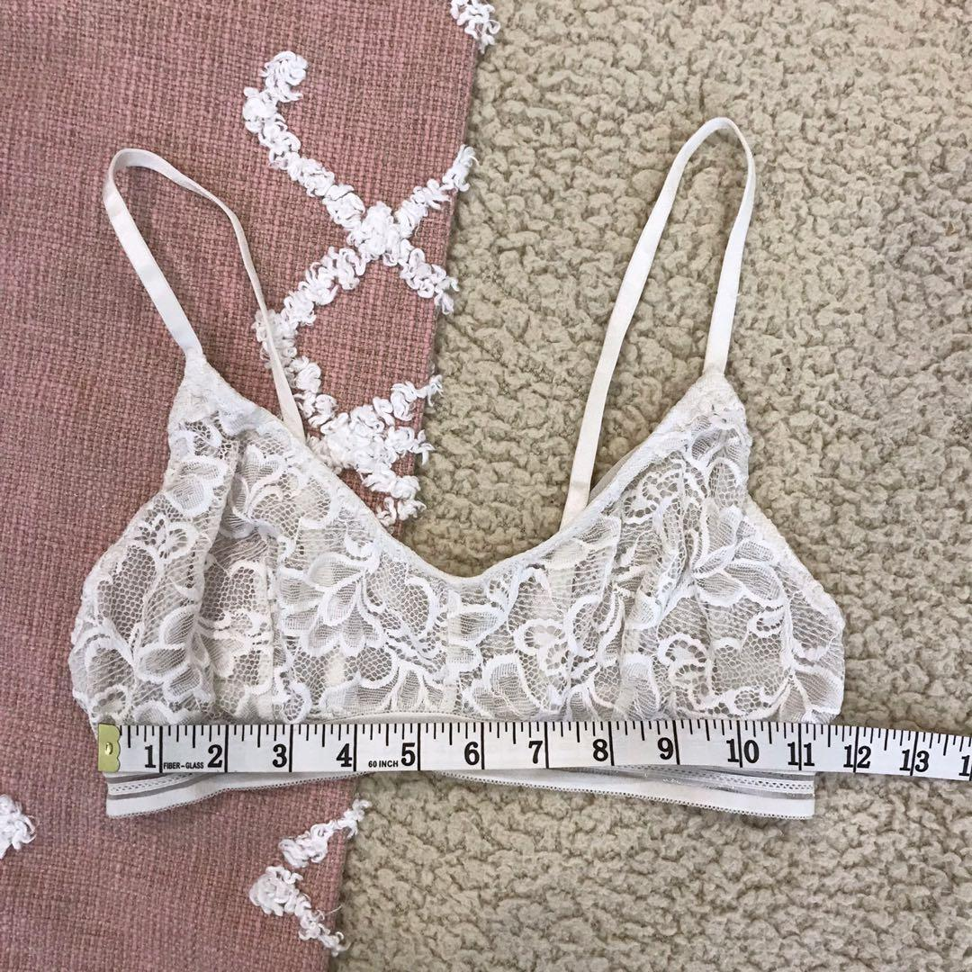 cotton on body white lace bralet bra