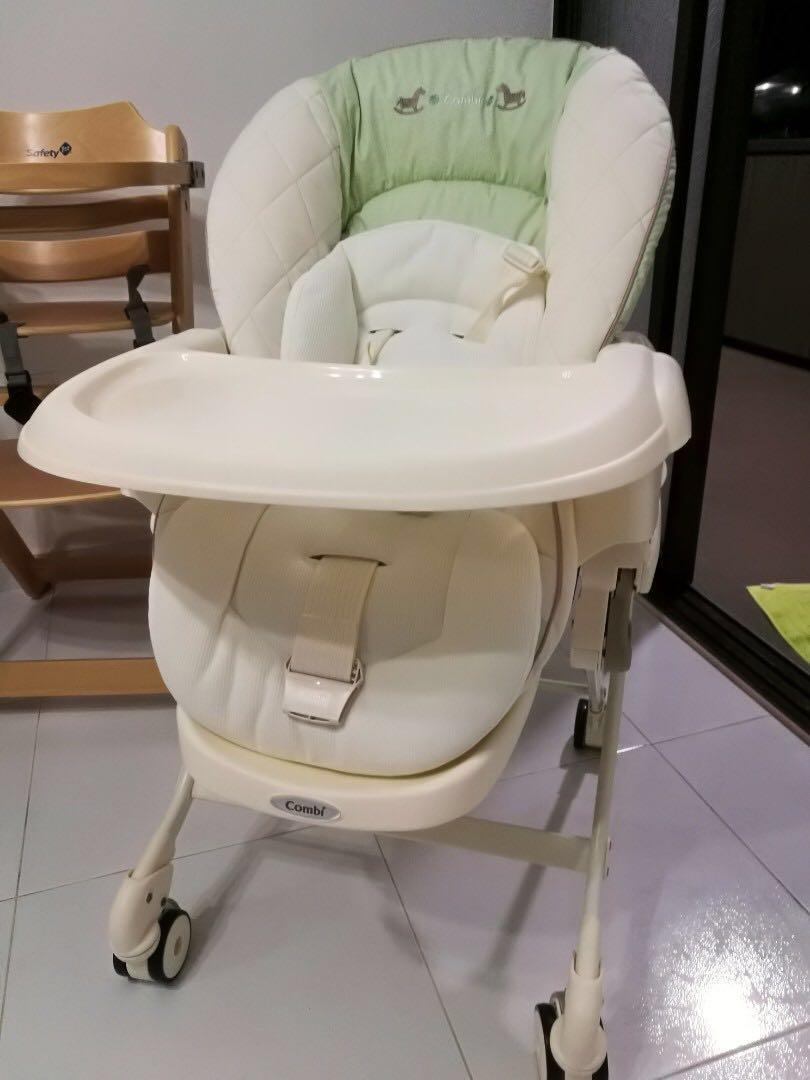 (急放) Combi High Chair Dreamy 已更換全新安全帶 免費送到屋企(睇地區)