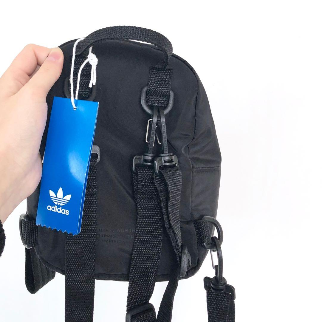 BRAND NEW ADIDAS BLACK MINI BACK PACK