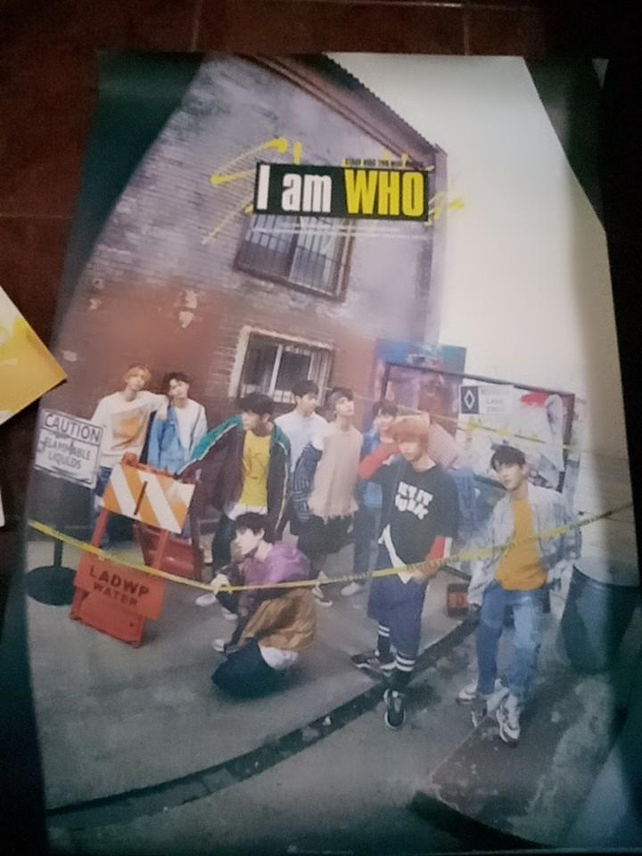 ALBUM STRAY KIDS I AM WHO (VERS WHO)