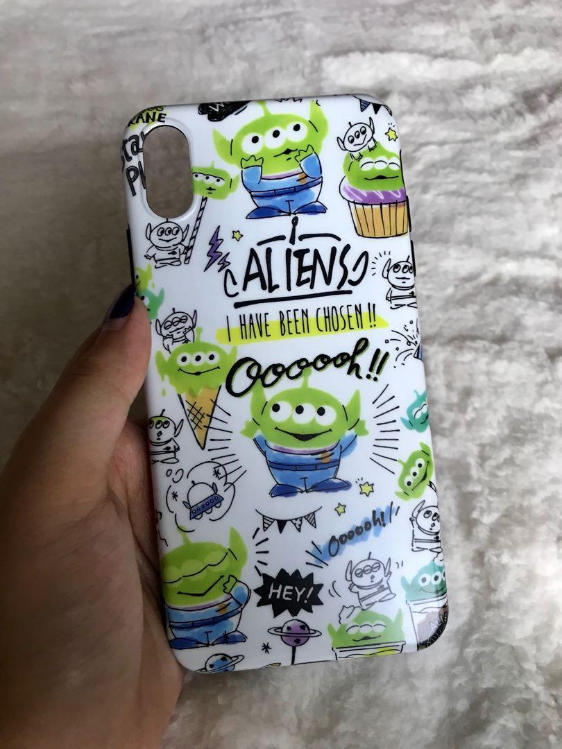 ALIENS TOY STORY CASE FOR IPHONE XSMAX