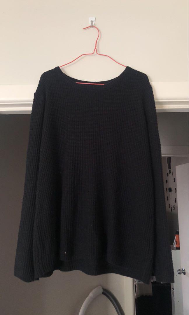black cotton on jumper