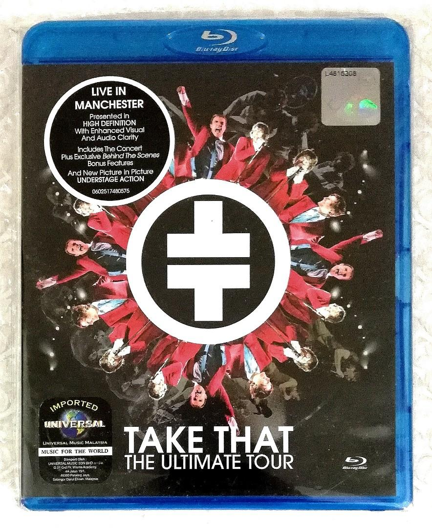Blu-ray Concert 1. The Tribute to Pavarotti 2. Take That - The Ultimate Tour