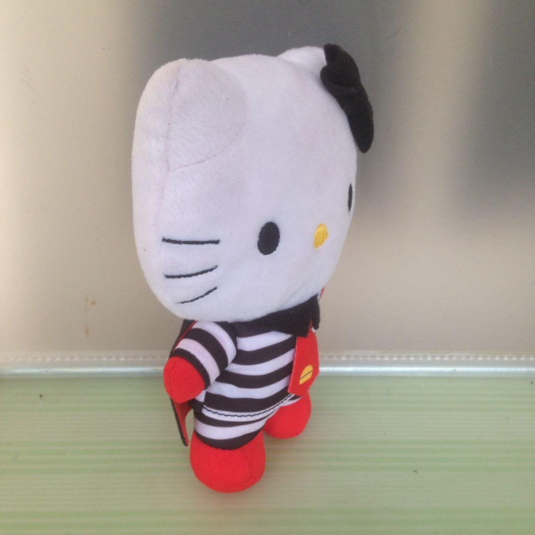 Boneka Hello Kitty Ronald and Friends - Hamburglar - Happy Meal Mc Donald 2012