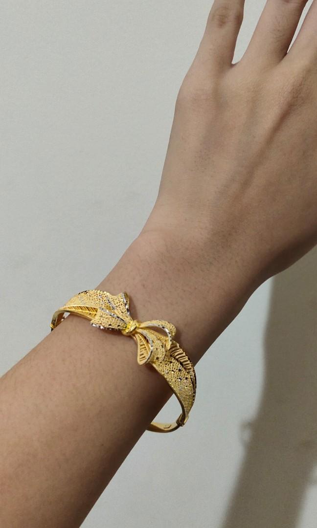 Bracelet gelang emas gold