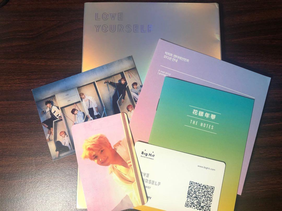 BTS Love Yourself Answer  / Loveyourself Answer