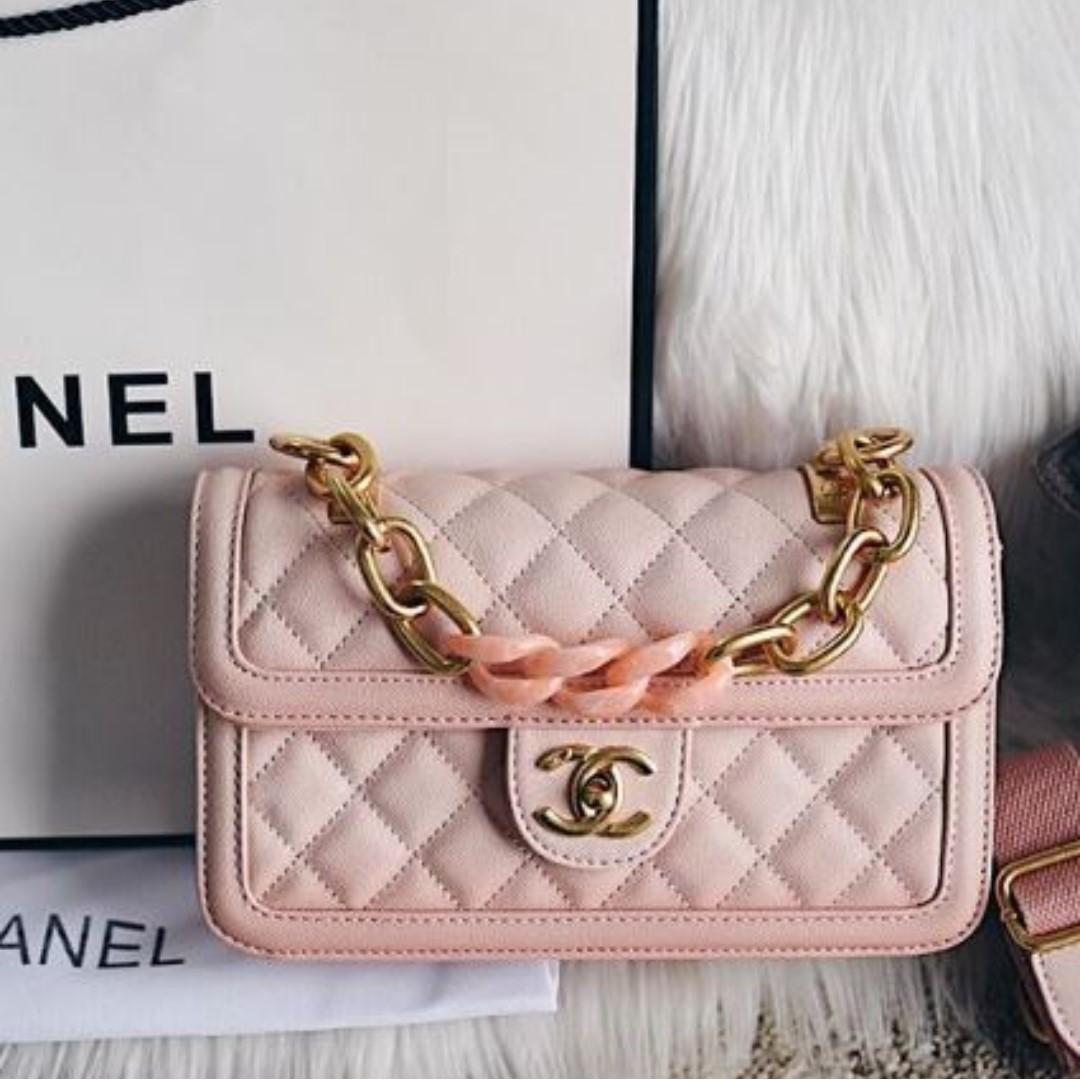 Chanel Sunset on The Sea Bag Cruise Collection 2019 Semipremium Authentic Mirror 1:1 (persis Ori)