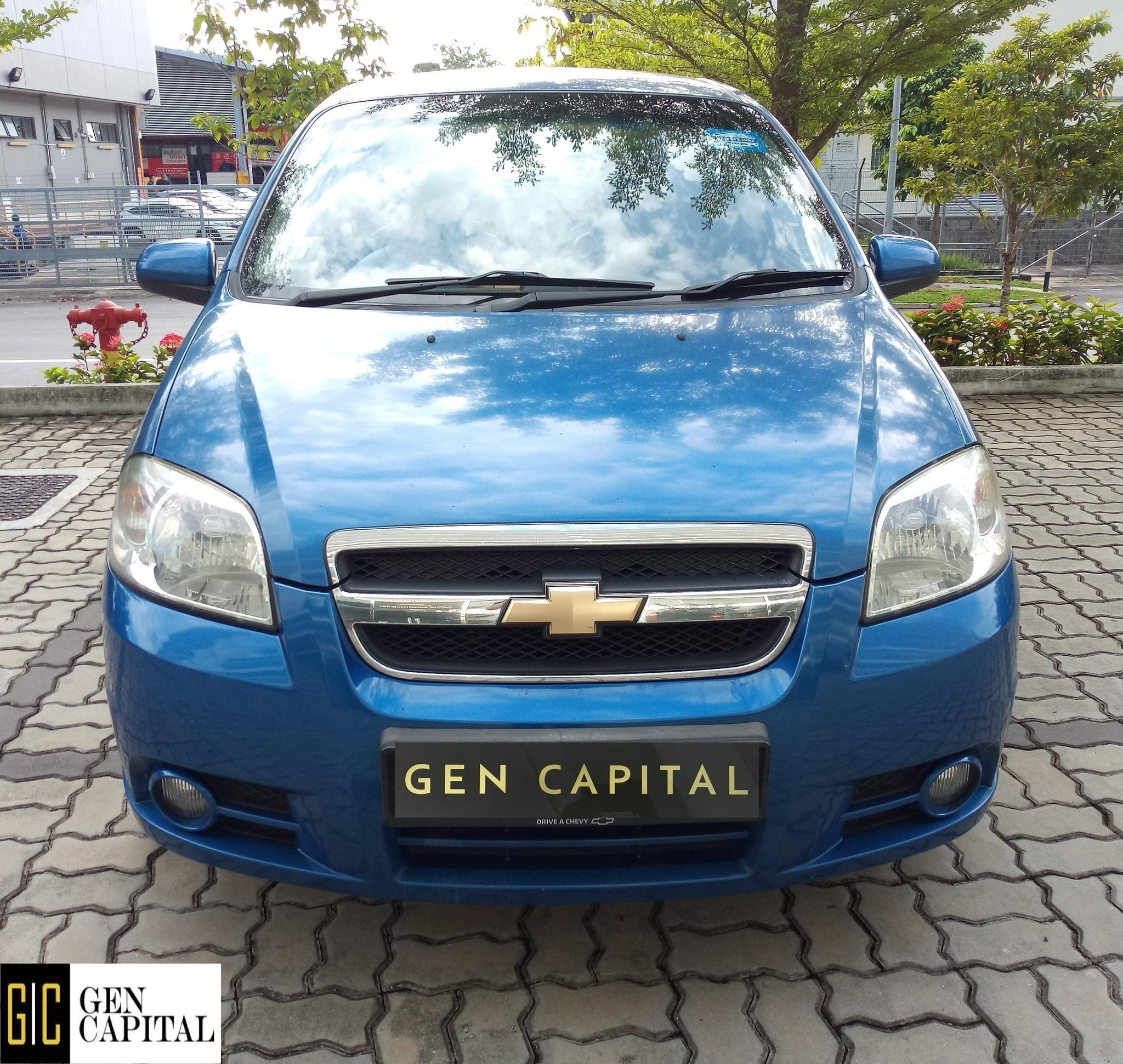 Chevrolet Aveo 1.4A Sedan Comfortable Car at Low Rental Rate