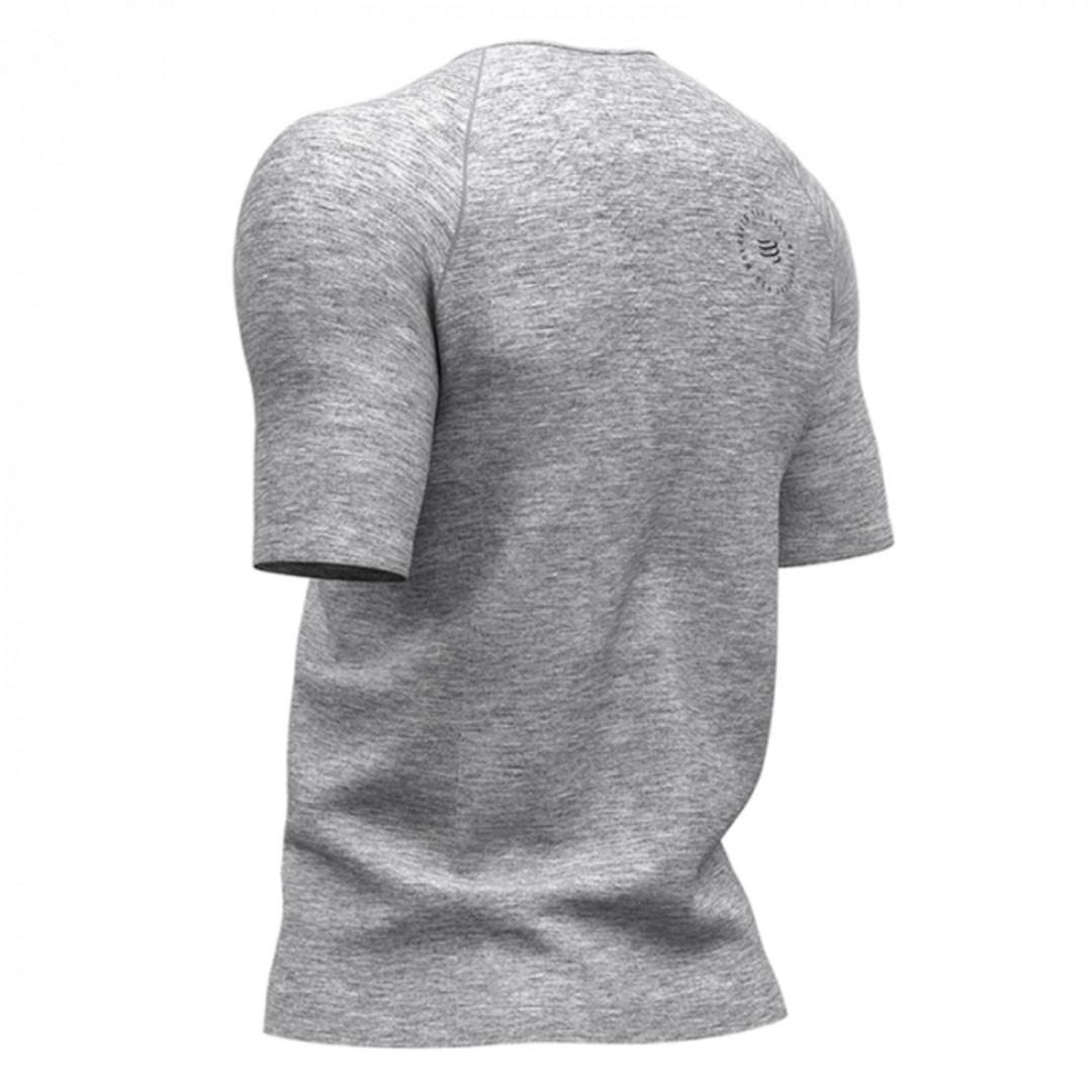 COMPRESSPORT Training Tshirt SS Grey - Mont Blanc 2019 Size M
