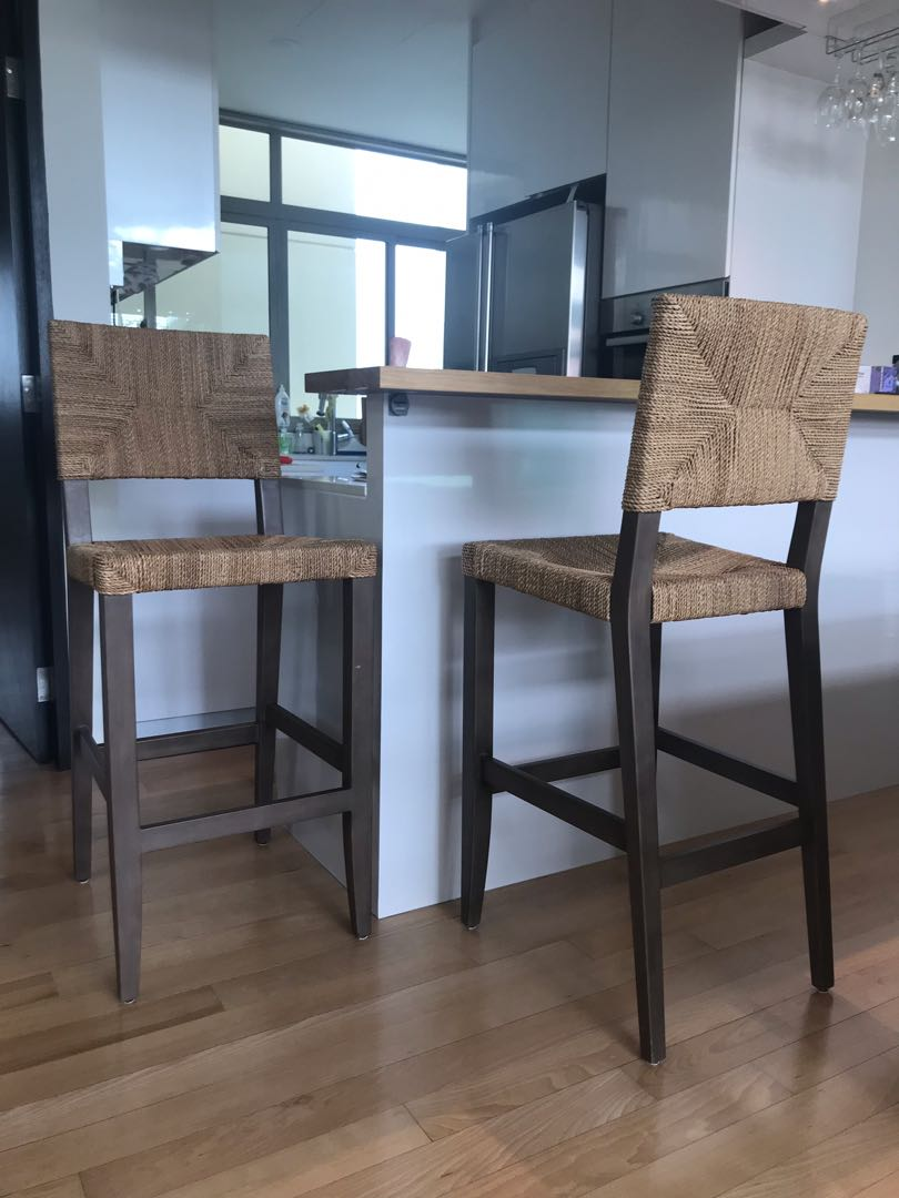 Brilliant Crate Barrel Fiji Bar Stools Gmtry Best Dining Table And Chair Ideas Images Gmtryco