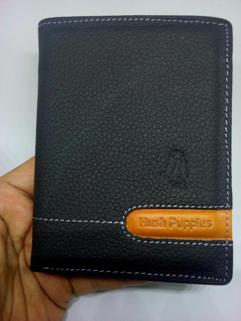 Dompet Hush Puppies black new