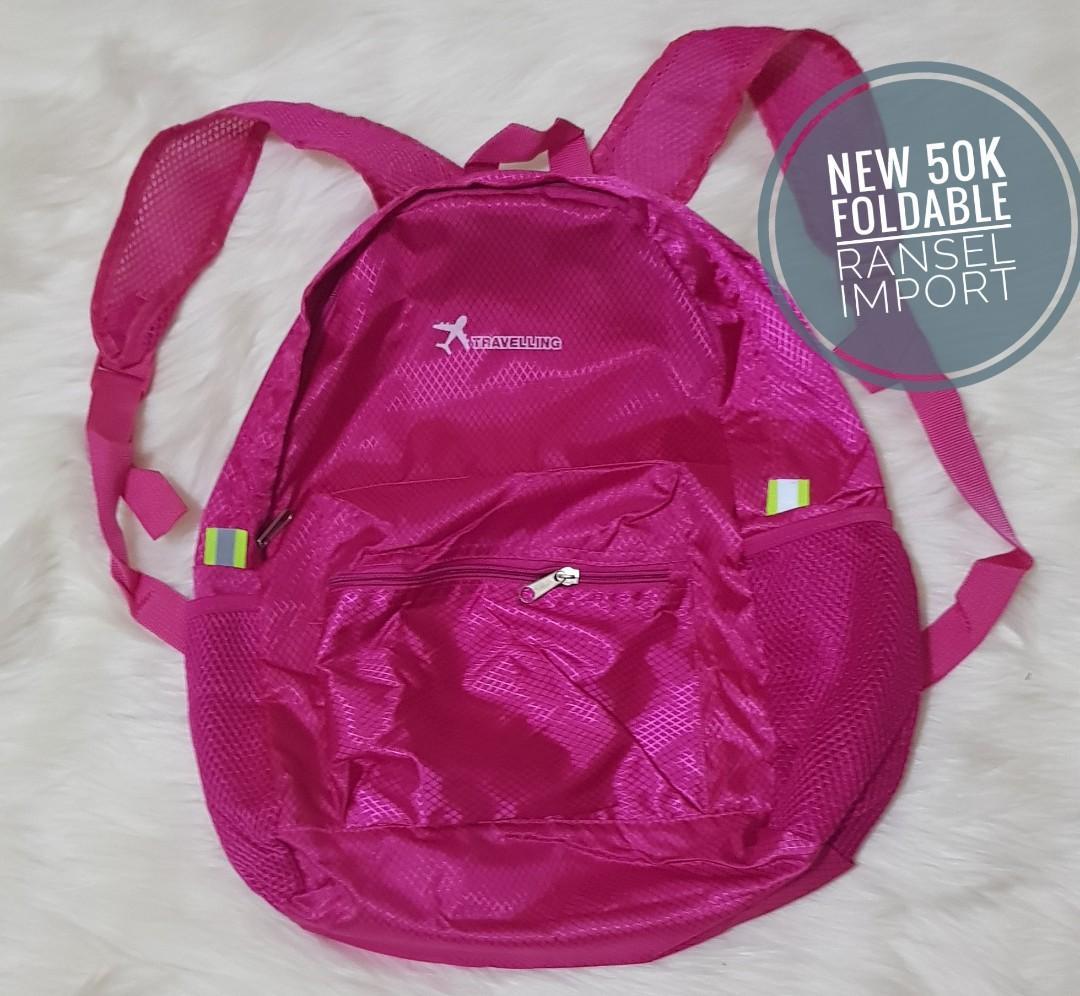 Foldable Travelers Backpack