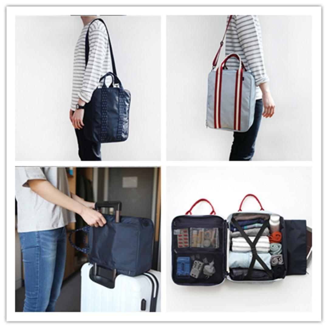 Free Delivery 🚚 27*36*14cm (L x H x W)  Men/Women large capacity travel luggage bag for sale!