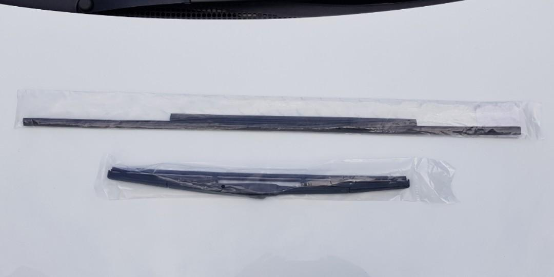 Front Wiper refills and Rear Wiper piece for Toyota Noah, Voxy & Esquire
