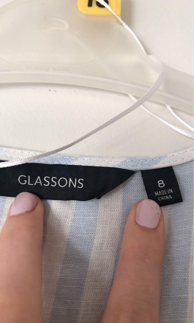 glassons wrap dress