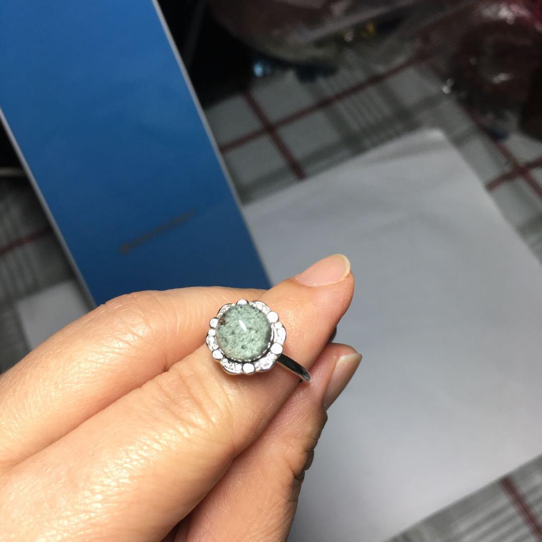 Green Phantom Treasure Bowl (绿幽灵聚宝盆) Ring (Adjustable)