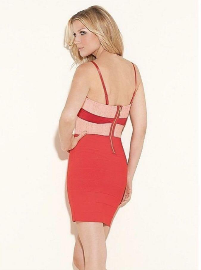 Guess Ambrosia Bodycon Bandage Dress New With Tags