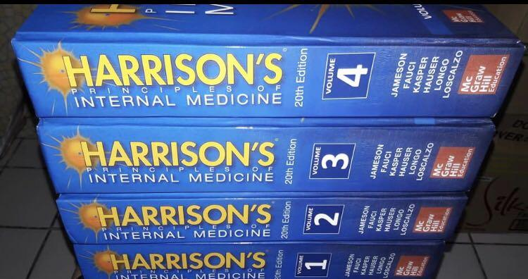 Harrison's IM book 5000 (4 volumes, soft bound, size 6.5 x 9 inches) 6500 (4 volumes,  hardbound