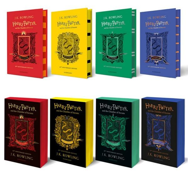 Harry Potter and the Chamber of Secrets Hogwarts 20th Anniversary Edition by JK Rowling