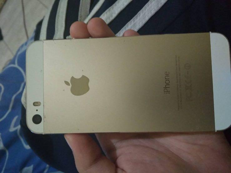 Iphone 5s 64gb Gold Second