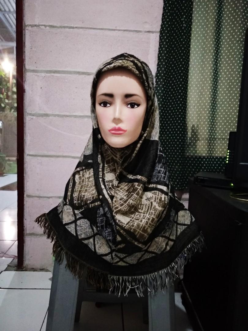 Kerudung, jilbab instan, hijab instan