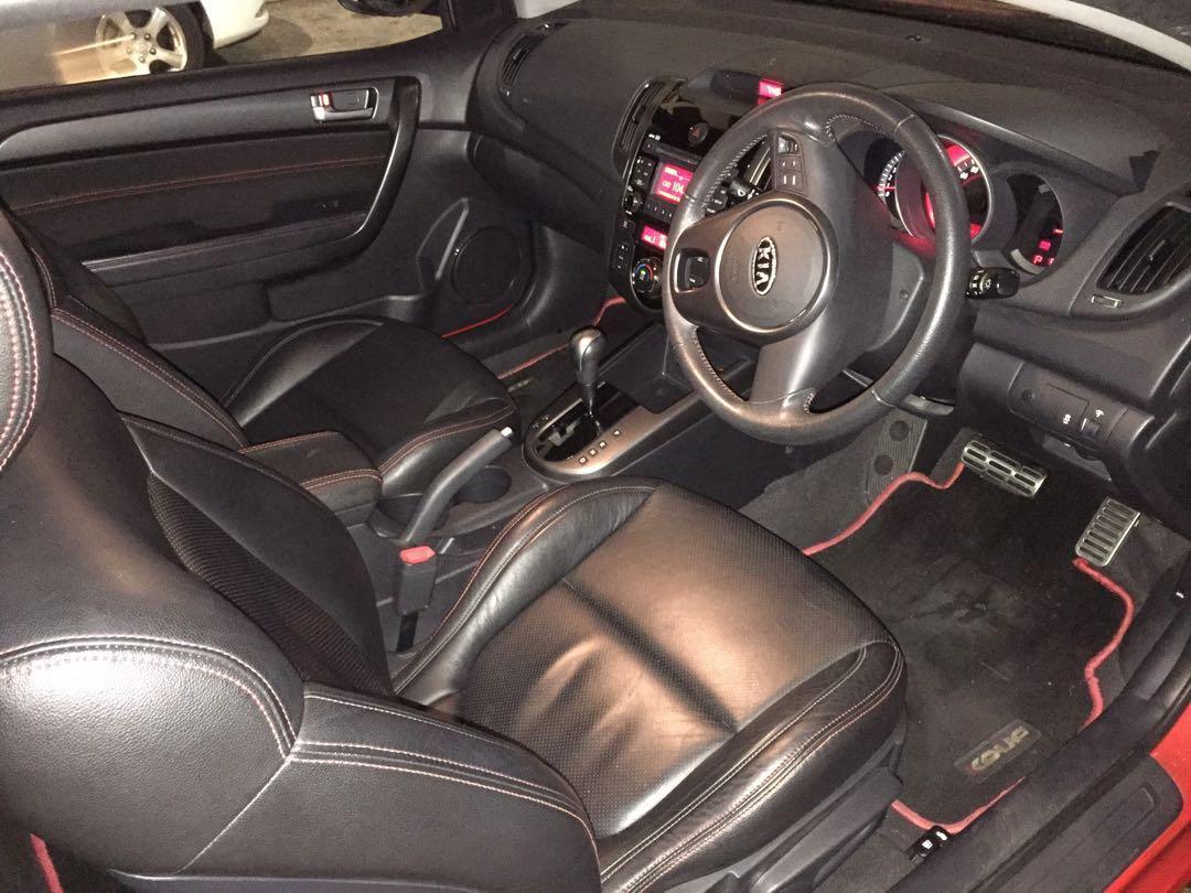 Kia Forte Koup 1.6SX with Sportstronic Auto