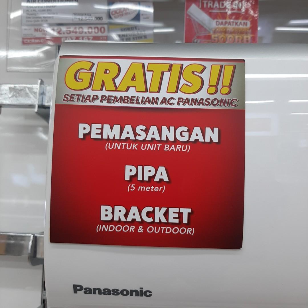 Kredit AC Panasonic 1PK Tanpa Kartu Kredit