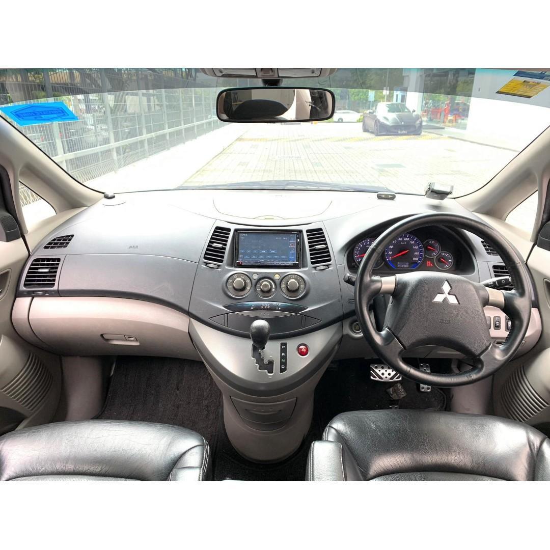 Mitsubishi Grandis For PHV Go Jek Grab/Personal Use Cheap Car rental