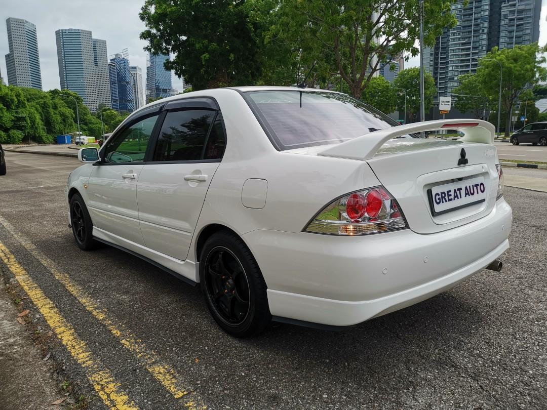 Mitsubishi Lancer 1.6 GLX Sports Auto