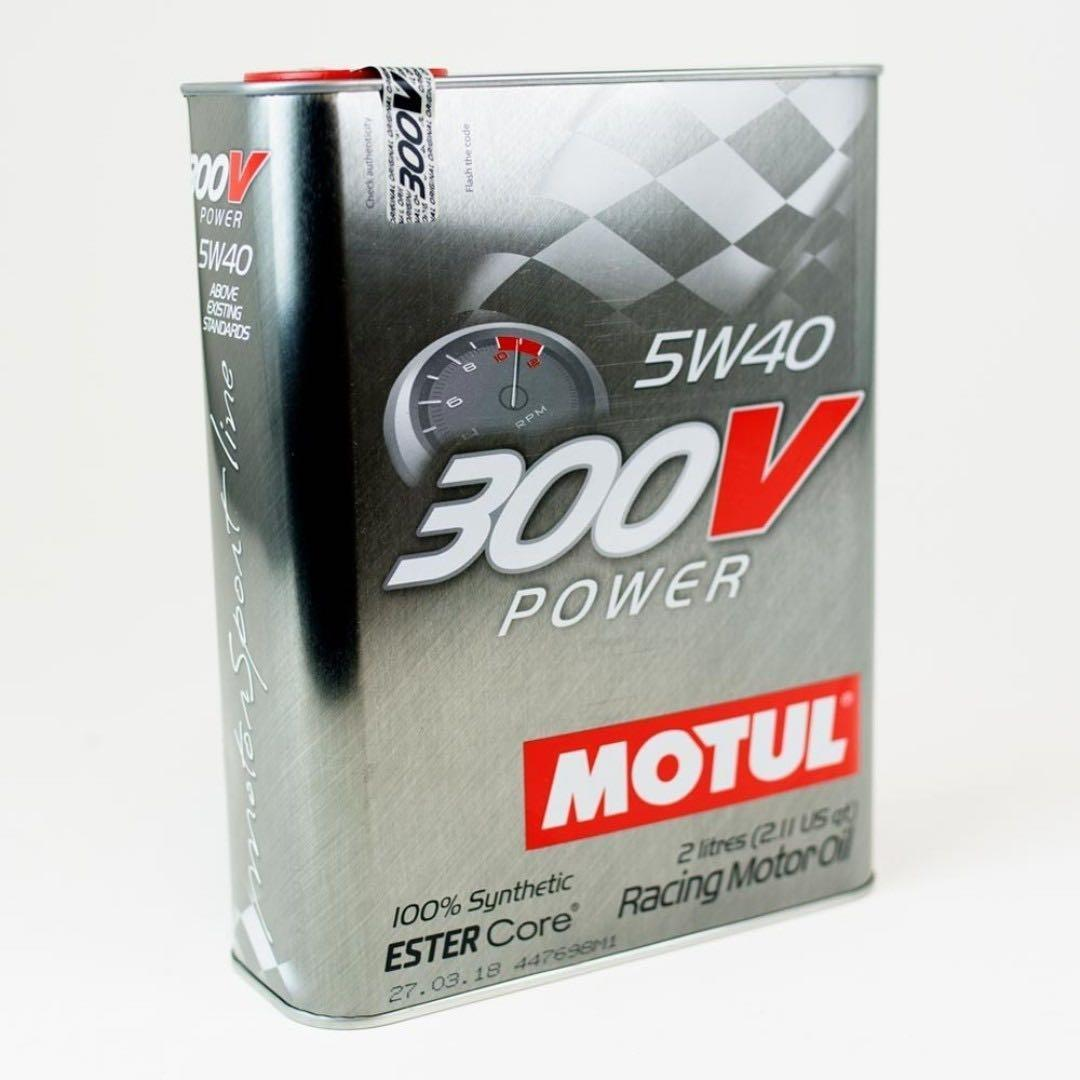MOTUL 300V 5w40 Power Synthetic  Racing Motor Oil