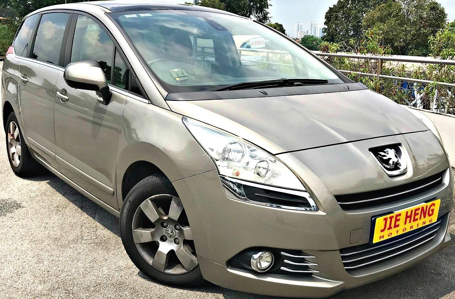 Peugeot 5008 1.6 Turbo Luxury Auto