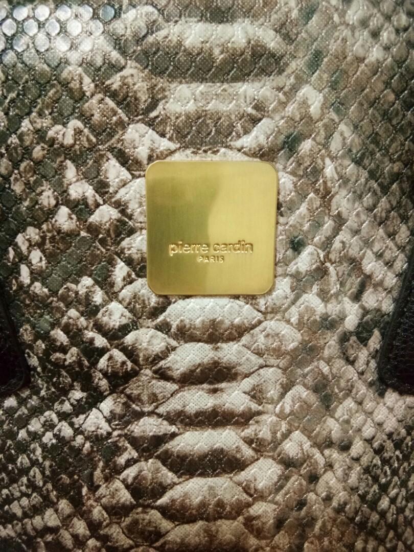 #maugopay Pierre Cardin Paris Bag Type Crocodile