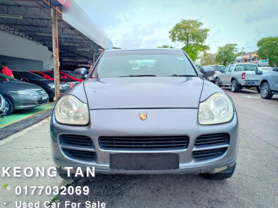 PORSCHE CAYENNE 3.2AT 955 2004TH🚘Johor Nice Plate(JXX9696)🎉Cash OfferPrice!! Rm33,500 Only!! Find Serious Buyer,Worth To Buy🤗