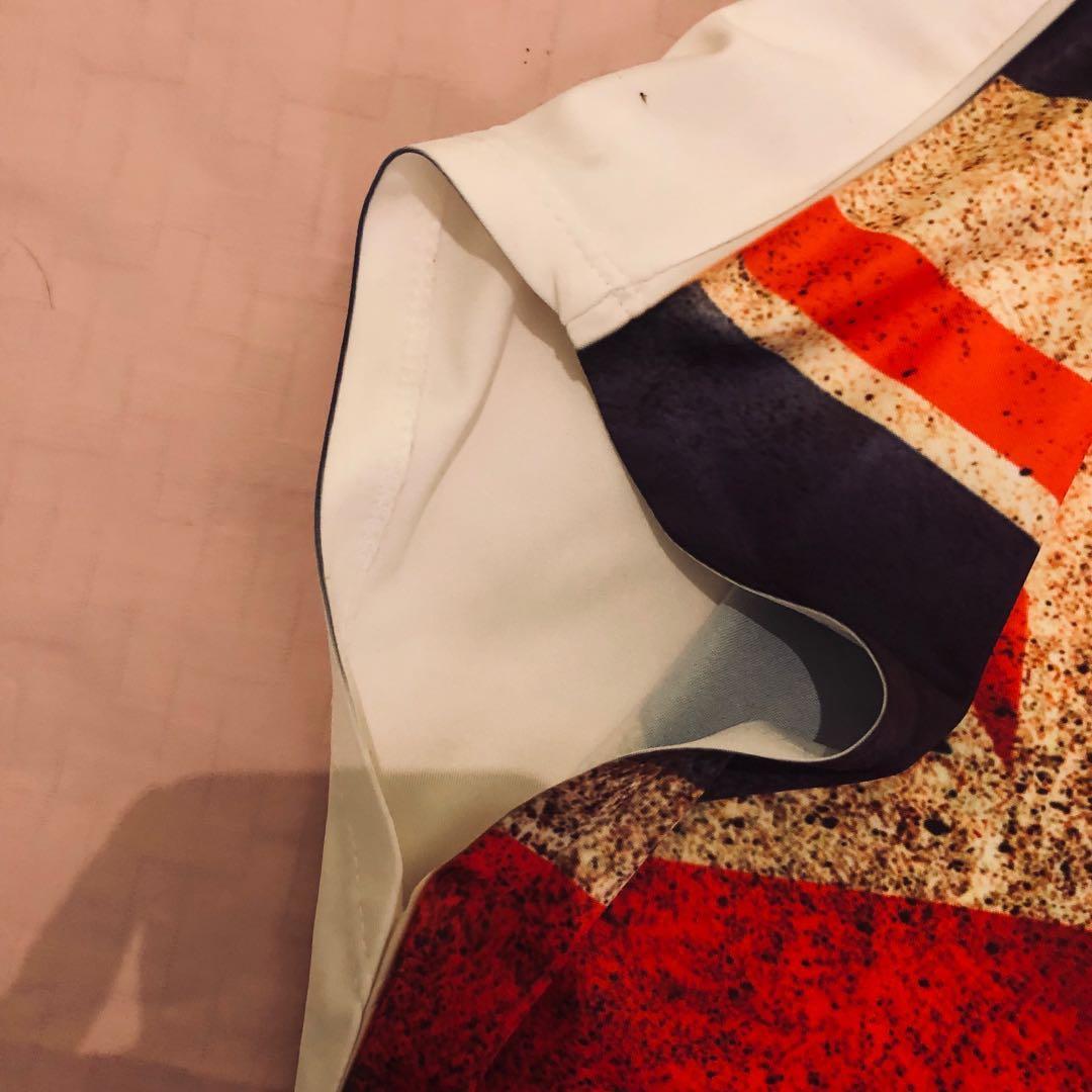 Preloved ENGLAND FLAG blouse