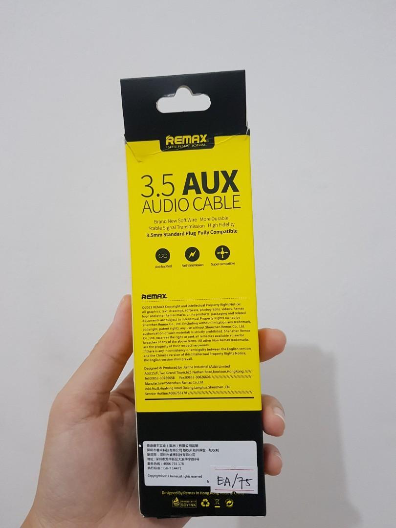 Remax AUX audio cable