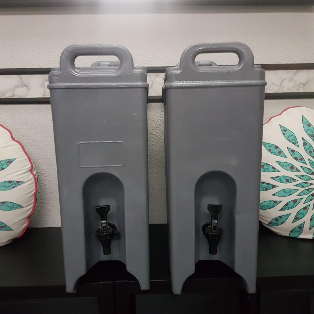 [Rent] 2x Cambro water dispensers