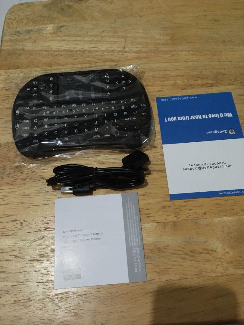 Rii i8 Mini Wireless Keyboard on Carousell
