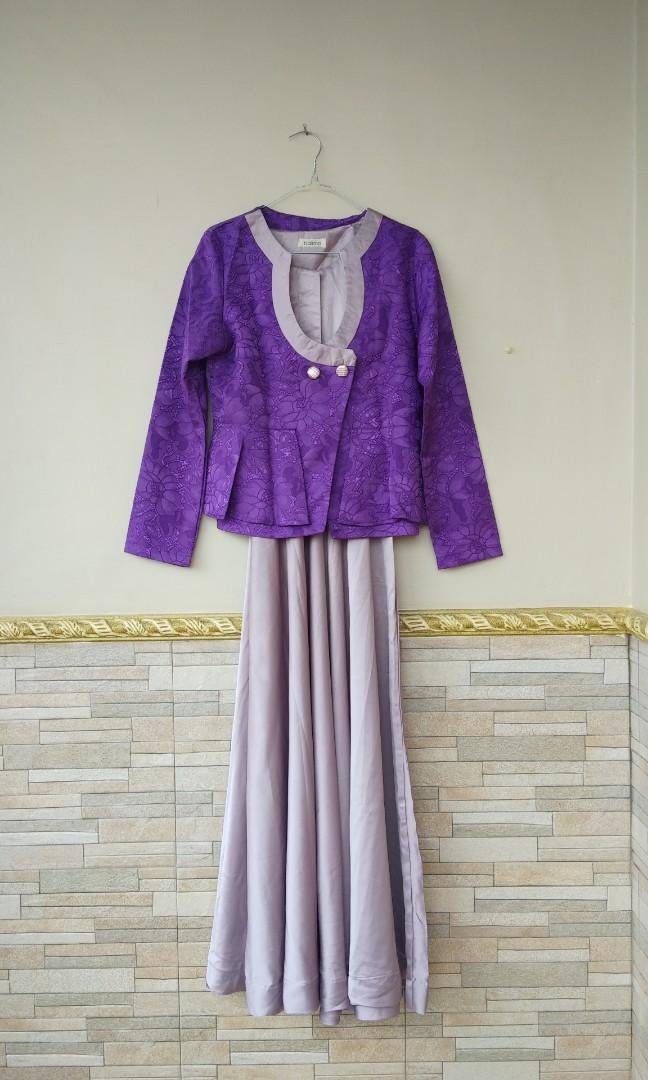 Set Dress Cardy Purple