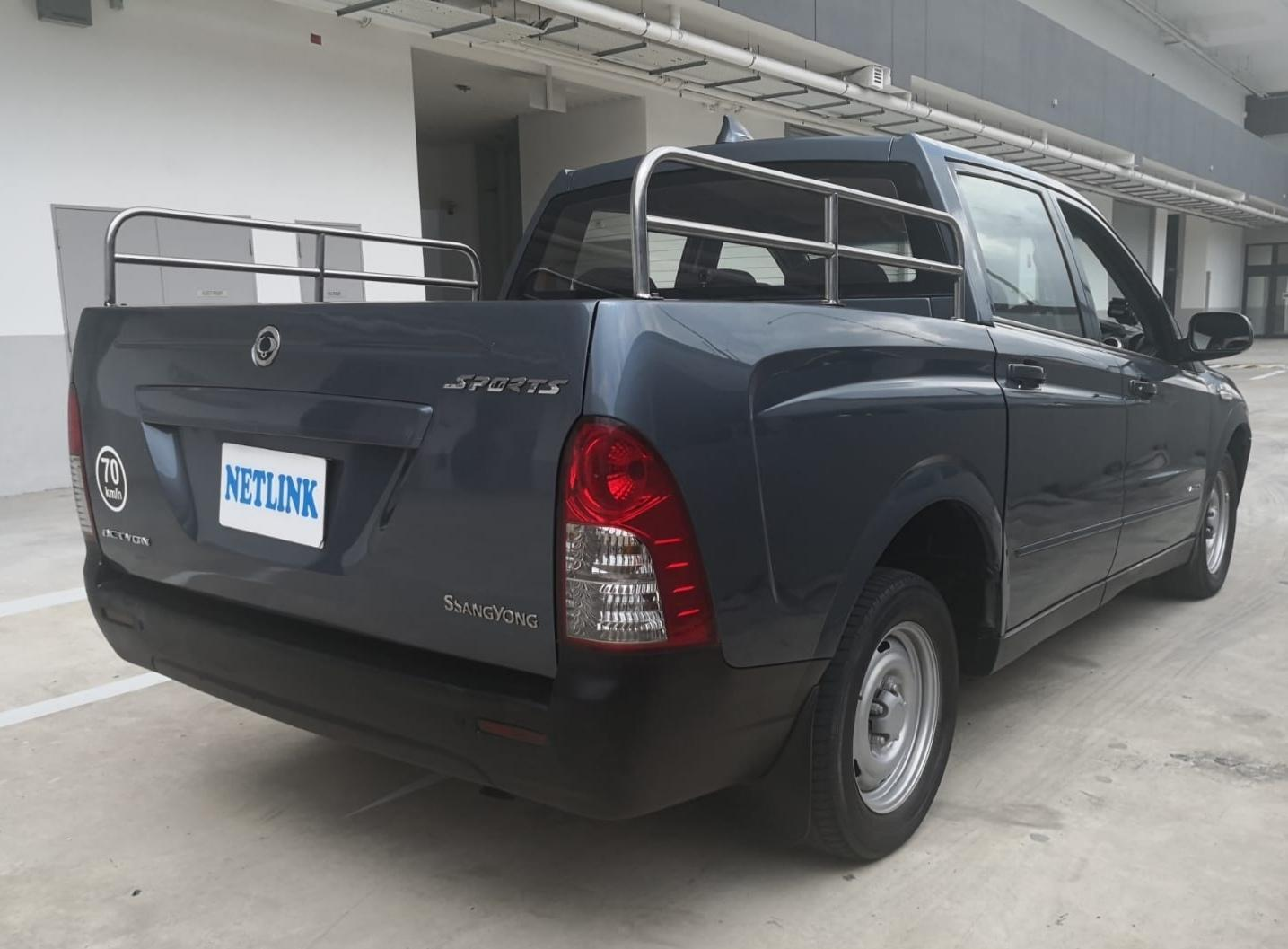 SSANGYONG ACTYON SPORTS D/CAB 2.0 AT ABS A/BAG 2WD