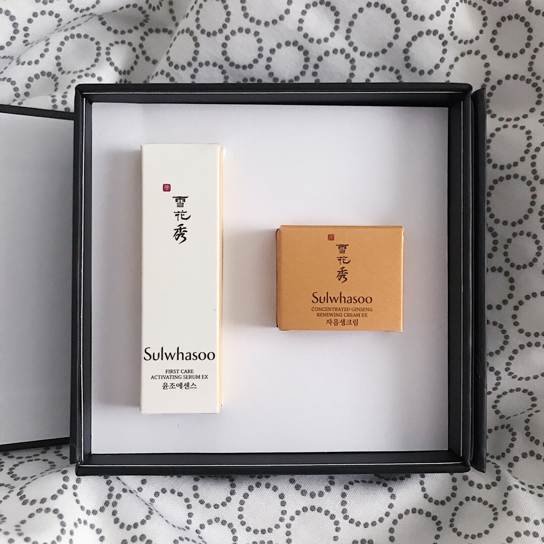 Sulwhasoo First Care Activating Serum + Concentrated Ginseng Renewing Cream  Trial Kit