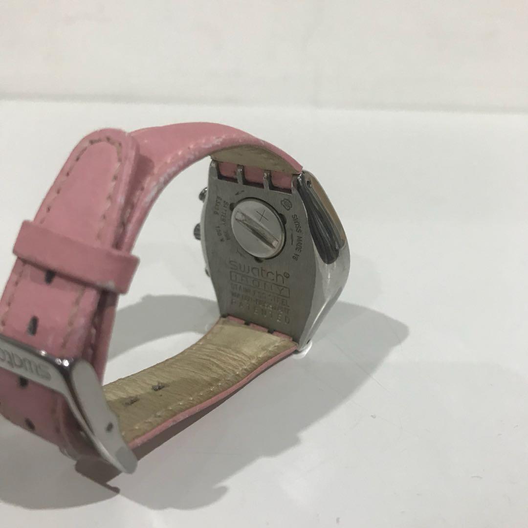 Swatch watch Irony Swiss made V8 stainless steel watch