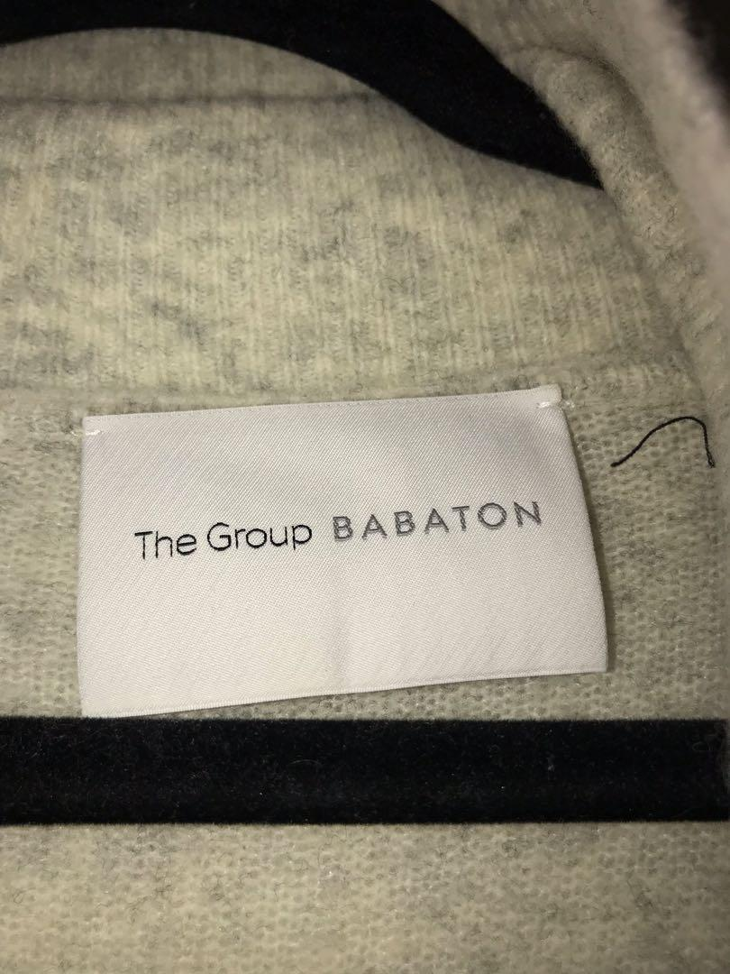 The Group by Babaton Long Cream Sweater