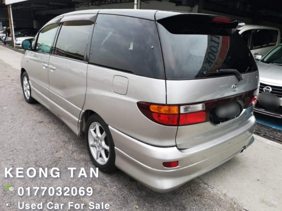 Toyota Estima 2.4(A) 2002TH Cash💰OfferPrice!! Rm28,800 Only🎉