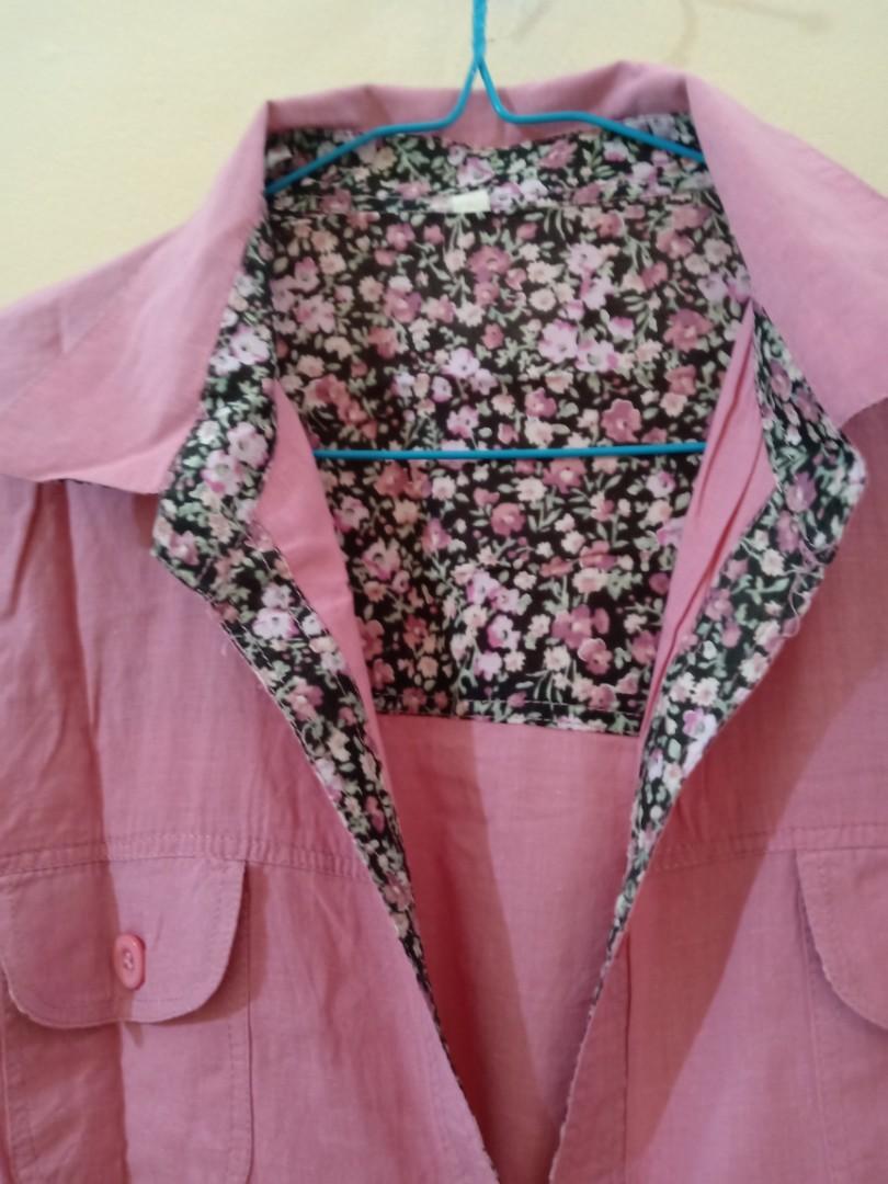 Tunik Bunga Pink