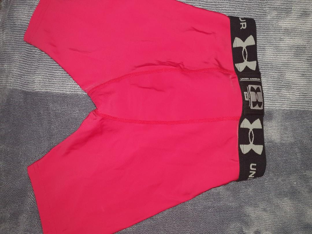Under armour heat gear compression shorts in new condition.