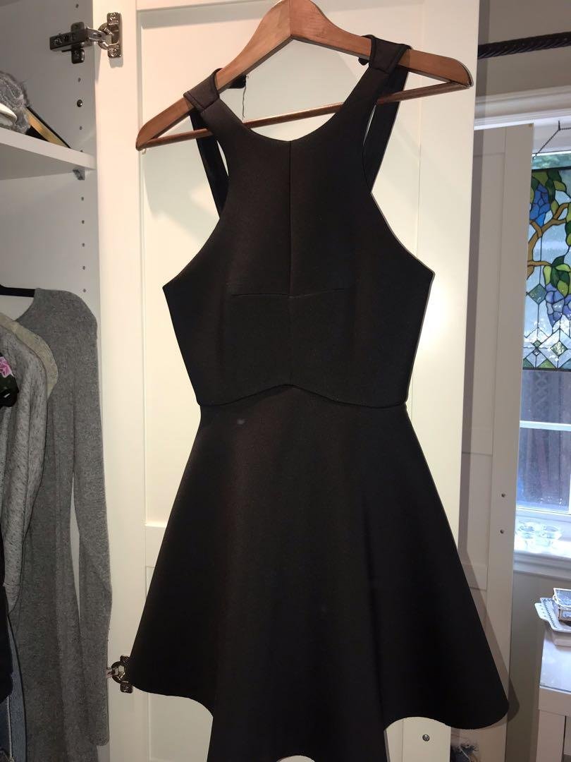 Urban Outfitters Black Skater Dress