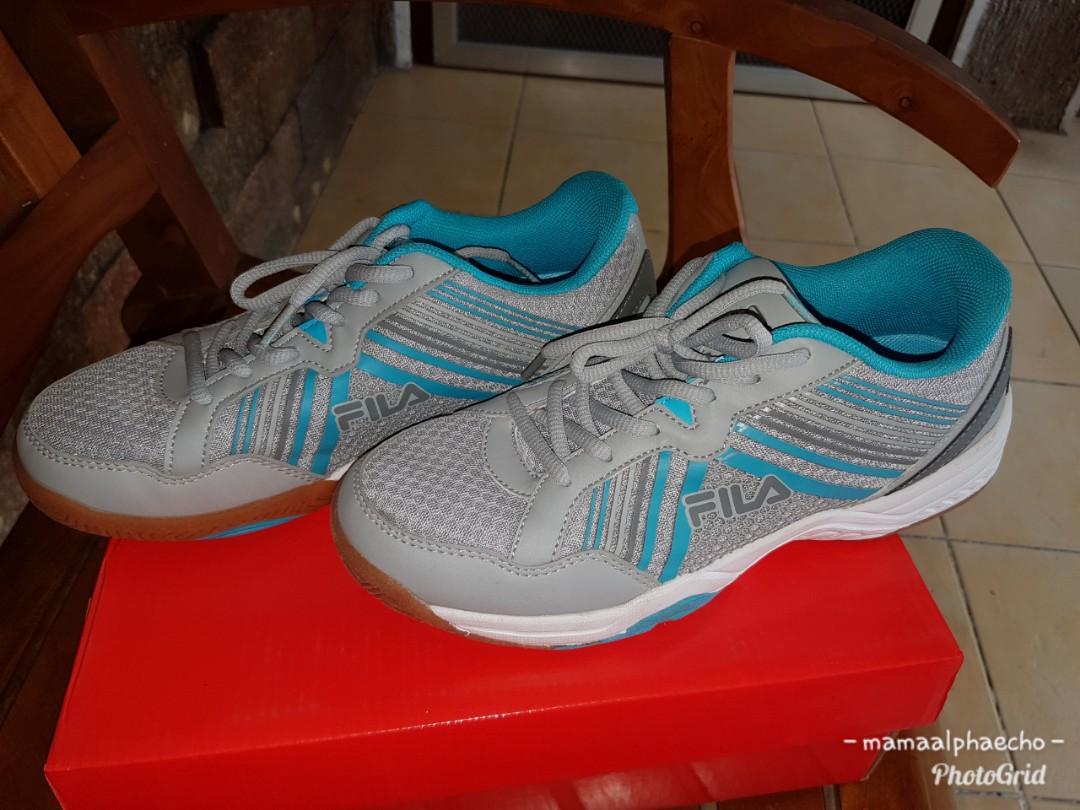 Used Once: Fila Badminton Shoes, Women