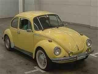 VOLKSWAGEN BEETLE1974 古董車 預計中標30萬日元 價錢面議